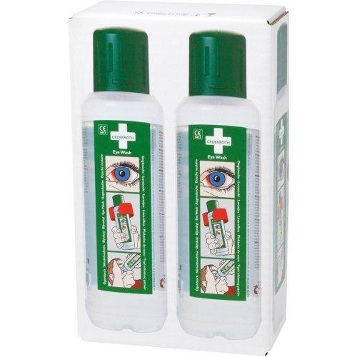 Cederroth Augenspülung 2x500ml Flaschen