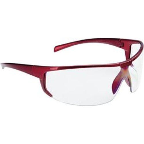 Fortis Bügelbrille Polaris,klar,Rahmen rot,