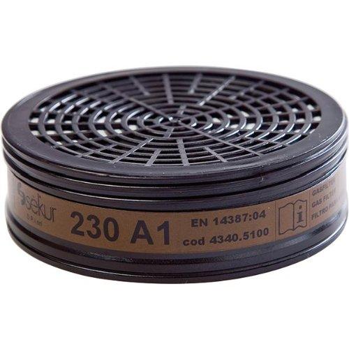 Sekur Filter 230, A1 für Polimask 230(Pck. a 2St.)
