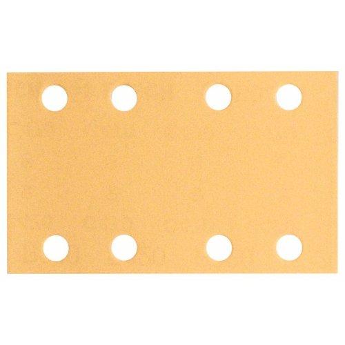 Schleifblatt C470, 80 x 133 mm, 400, 8 Löcher, Klett, 10er-Pack