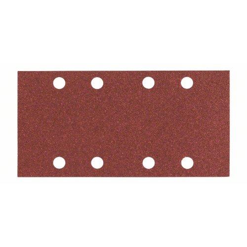 Schleifblatt C430, 93 x 186 mm, 4 x 60, 4 x 120, 2 x 180, 8 Löcher, 10er-Pack