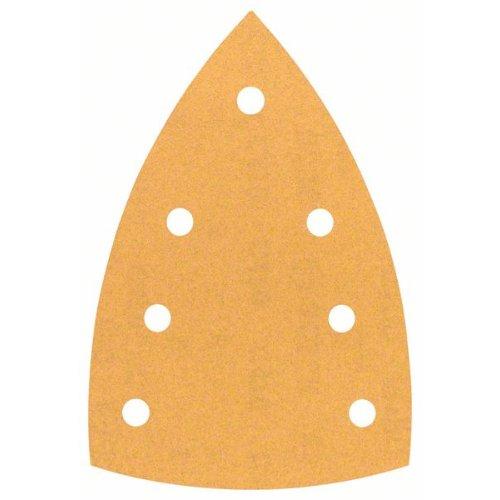 Schleifblatt C470 für Deltaschleifer, 100 x 150 mm, 180, 7 Löcher, 10er-Pack