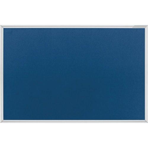 magnetoplan Textilboard blau 900 x 600 mm