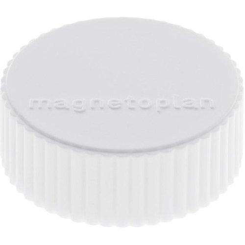 magnetoplan Magnet D34mm VE10 Haftkraft 2000 g weiss