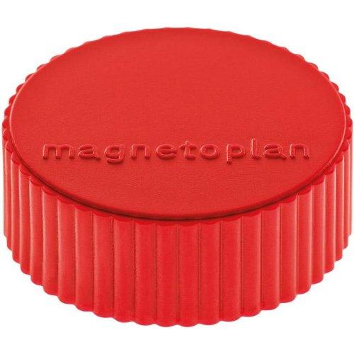 magnetoplan Magnet D34mm VE10 Haftkraft 2000 g rot