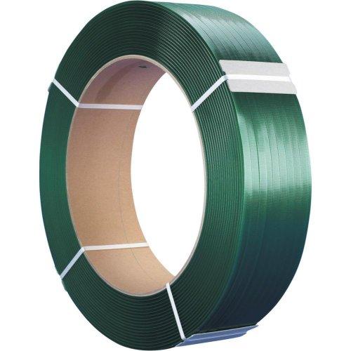 PET Kunststoff-Band grün 15,5x0,65 mm, Rol a 2000m