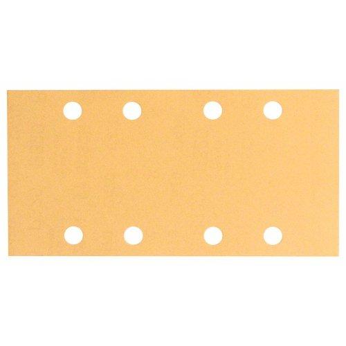 Schleifblatt C470, 93 x 186 mm, 40, 8 Löcher, Klett, 50er-Pack