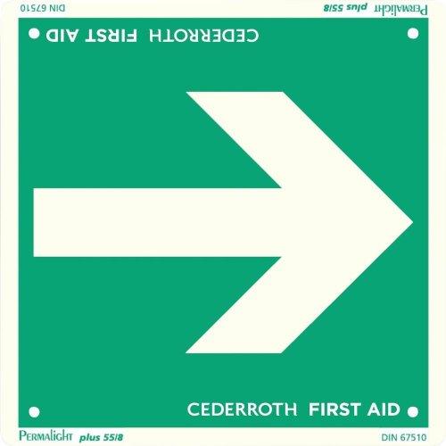 Cederroth Sicherheitsschild Richtungspfeil