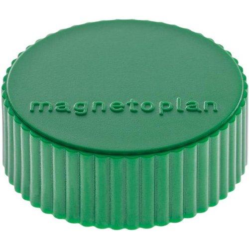 magnetoplan Magnet D34mm VE10 Haftkraft 2000 g grün