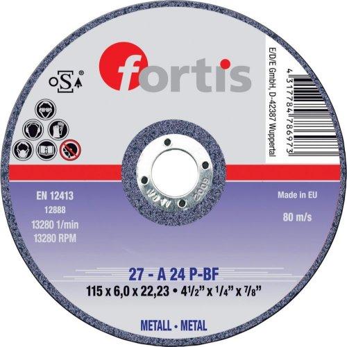 Fortis Schruppscheibe Metall 125x6,0mm