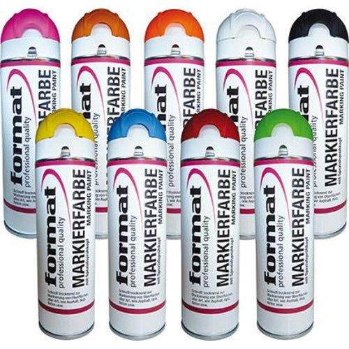 Format Baustellenmarkierspray FLUO Pink 500ml GG