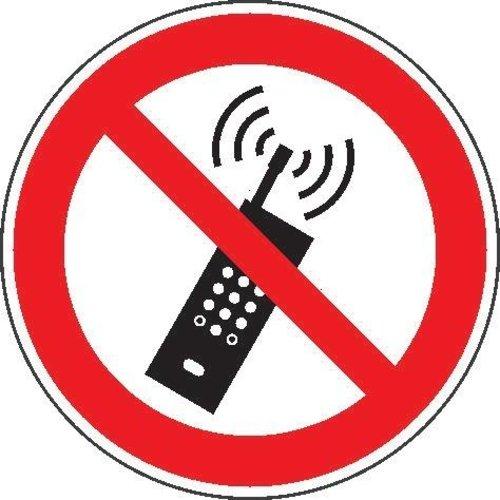 Verbotsschild Fol Mobilfunk D200mm