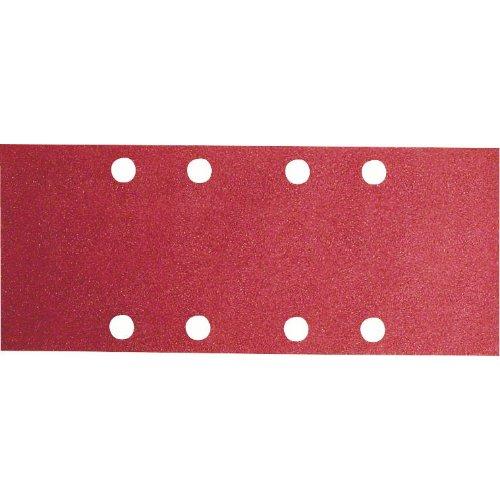Schleifblatt C430, 93 x 230 mm, 80, 8 Löcher, gespannt, 10er-Pack