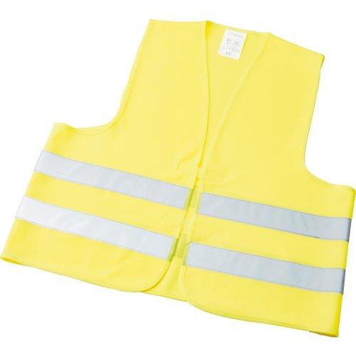 IHTec Warnweste Polyester Einheitsgröße gelb