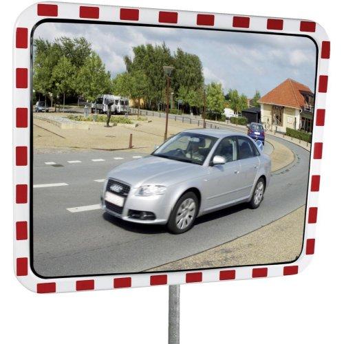 Dancop Verkehrsspiegel Edelstahlbeschlagsfrei 40 x 60 cm