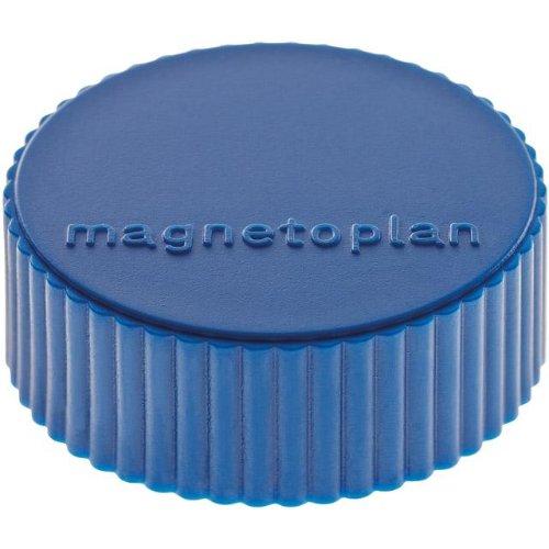 magnetoplan Magnet D34mm, VE 10 StückHaftkraft 2000g, dblau
