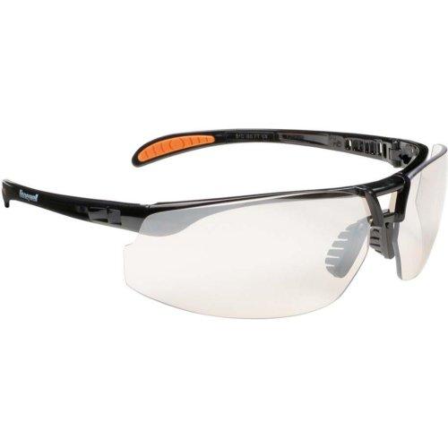 Honeywell Brille Protege,I/0 kratzfest,schwarz/silber