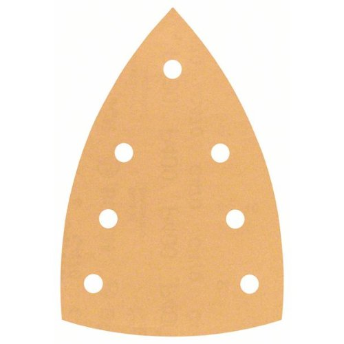 Schleifblatt C470 für Deltaschleifer, 100 x 150 mm, 400, 7 Löcher, 10er-Pack