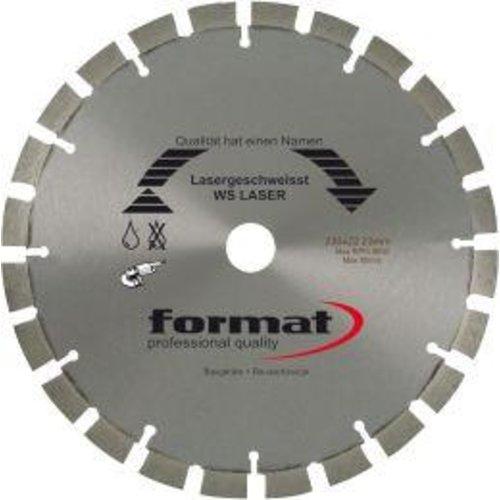 Format Diamantsägeblatt WA Laser 230x22,2 mm