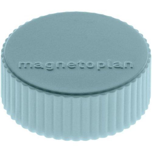 magnetoplan Magnet D34mm VE10 Haftkraft 2000 g blau