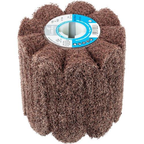 1 Stk | Sinus-Schleifwalze LWF universal 100x100 mm mit Bohrung 19 mm | Korund Korn 100 Produktbild