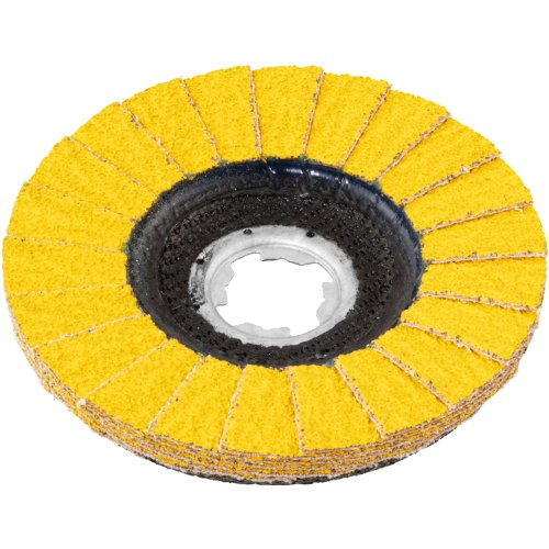 10 Stk   Fächerschleifscheibe V2 POWER Ø 125 mm Ceramic Korn 40   für X-Lock Winkelschleifer   flach Produktbild