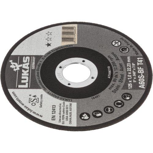 1 Stk   Trennscheibe T41 für Stahl 115x1 mm gerade   für Winkelschleifer   A60S-BF Produktbild