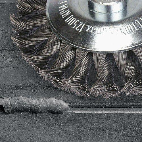1 Stk | Topfbürste BTSW universal 60x20 mm für Winkelschleifer gewellt Schaltbild