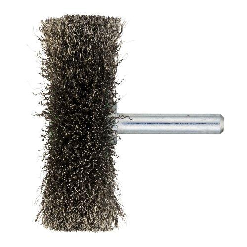 10 Stk | Schaftrund-Drahtbürste BSVW für Edelstahl 60x18 mm für Bohrmaschinen gewellt Artikelhauptbild
