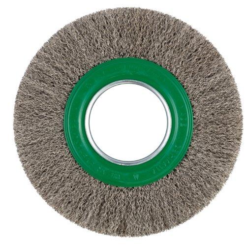 1 Stk | Rund-Drahtbürste BRVW für Edelstahl 150x23 mm für Geradschleifer gewellt Artikelhauptbild