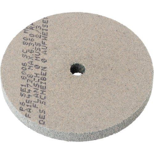 1 Stk | Polierscheibe P6SE1 universal Medium 150x20 mm Bohrung 25 mm Siliciumcarbid Korn 80 | mittel Produktbild