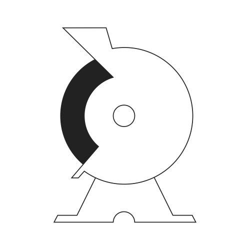 1 Stk | Rund-Drahtbürste BRVW für Edelstahl 150x23 mm für Geradschleifer gewellt Abb. ähnlich