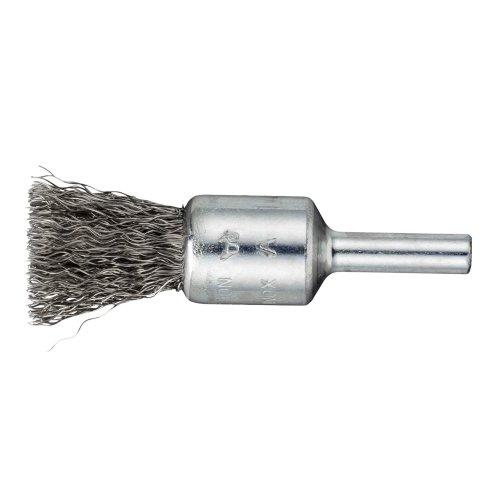 10 Stk | Pinsel-Drahtbürste BPVW für Edelstahl 25x25 mm für Bohrmaschinen gewellt Artikelhauptbild