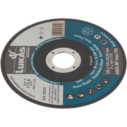 50 Stk | Trennscheibe T41 für Edelstahl 100x1 mm gerade | für Winkelschleifer | A60S-BF Produktbild