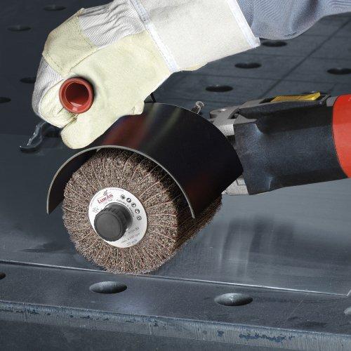 1 Stk | Schleifvlies-Lamellenwalze LWV universal 100x100 mm mit Bohrung 19 mm | Korund Korn 280 Schaltbild