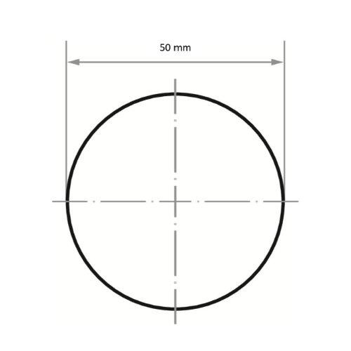 25 Stk | Schleifblätter PSR universal Ø 50 mm | Vlies Korund Korn 80 grob Abb. Ähnlich