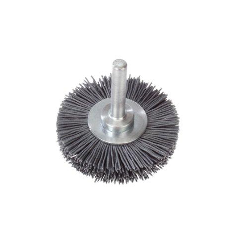 10 Stk | Schaftrund-Drahtbürste BSNF universal 50x10 mm für Bohrmaschinen aus Nylon | fein Artikelhauptbild
