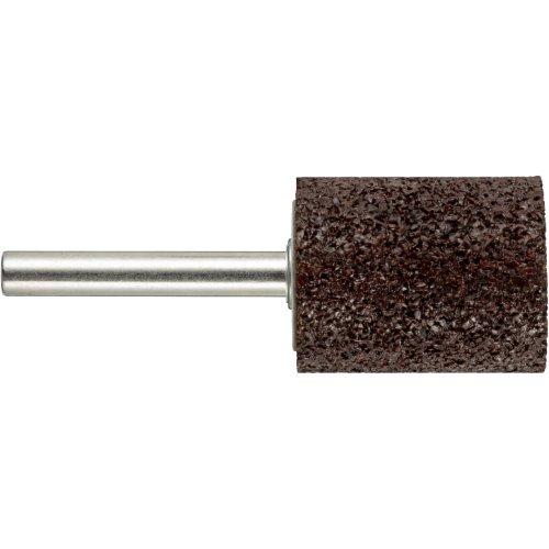 20 Stk | Schleifstift ZY Zylinderform für Werkzeugstähle 13x32 mm Schaft 6 mm | Korn 24 weich Artikelhauptbild