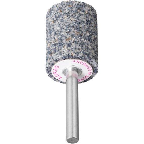 20 Stk | Schleifstift ZY Zylinderform für Guss 40x20 mm Schaft 6 mm | Korn 30 Produktbild