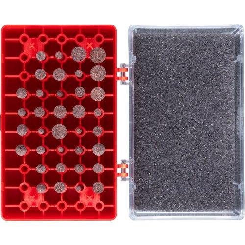 1 Stk   Schleifstift-Set 36-teilig für Werkzeugstähle Schaft mm Schaft 3 mm Edelkorund Produktbild