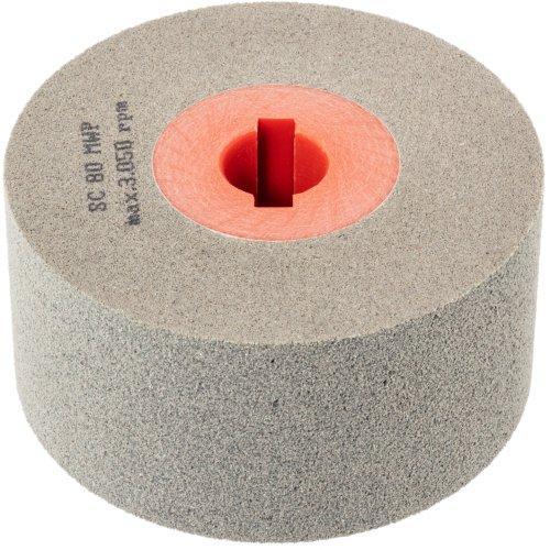 1 Stk | Polierwalze P6PW Medium 100x50 mm Bohrung 19 mm Siliciumcarbid Korn 80 Produktbild