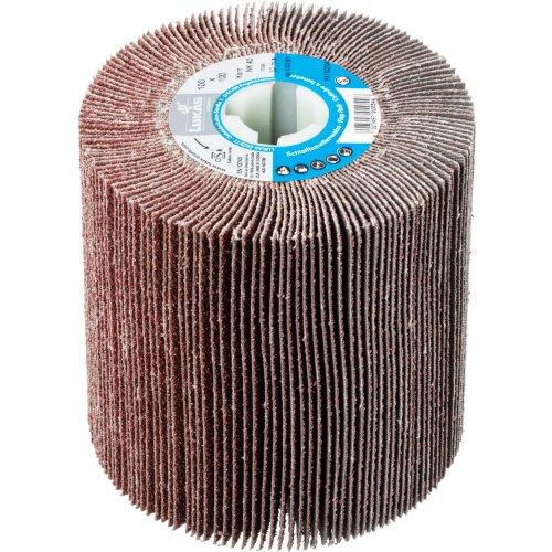 1 Stk | Lamellenwalze LWL universal 100x100 mm mit Bohrung 19 mm | Korund Korn 80 Produktbild