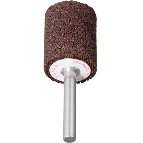 20 Stk | Schleifstift ZY Zylinderform für Werkzeugstähle 13x32 mm Schaft 6 mm | Korn 24 weich Produktbild