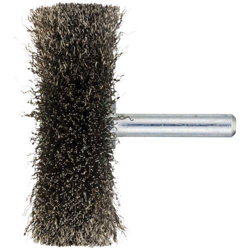 10 Stk | Schaftrund-Drahtbürste BSVW für Edelstahl 50x14 mm für Bohrmaschinen gewellt Artikelhauptbild