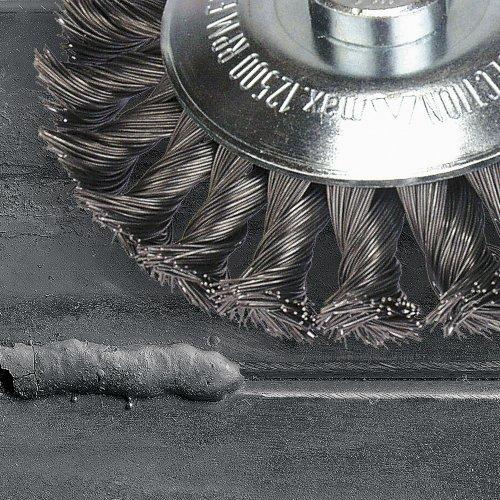 1 Stk   Rund-Drahtbürste BRSZ universell 115x12 mm für Winkelschleifer gezopft Schaltbild