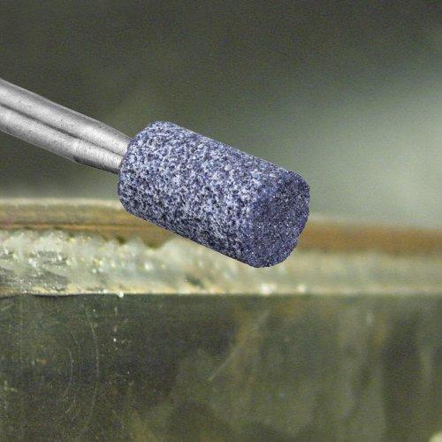 20 Stk | Schleifstift ZY Zylinderform für Stahl/Stahlguss 6x10 mm Schaft 3 mm | Korn 100 Schaltbild