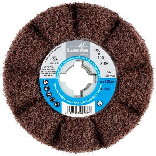 1 Stk | Sinus-Schleifwalze LWF universal 100x100 mm mit Bohrung 19 mm | Korund Korn 100 Artikelhauptbild