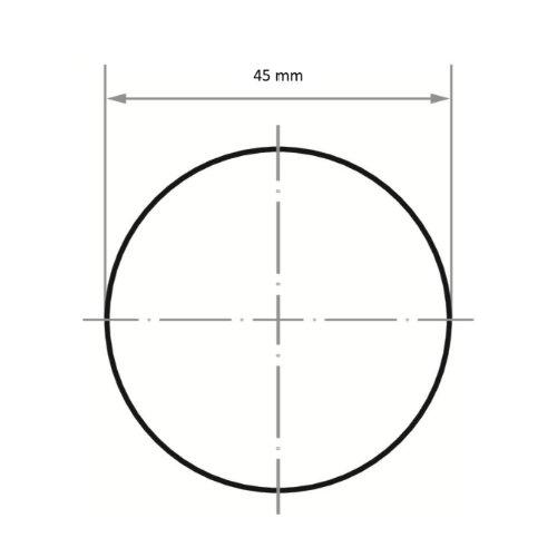 100 Stk | Schleifblätter selbstklebend PSK universal Ø 45 mm Korund Korn 120 Abb. Ähnlich