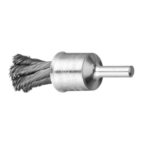10 Stk | Pinsel-Drahtbürste BPSZ universell 20x29 mm für Bohrmaschinen gezopft Produktbild
