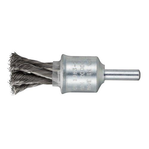10 Stk   Pinsel-Drahtbürste BPVZ universell 20x29 mm für Bohrmaschinen gewellt Artikelhauptbild